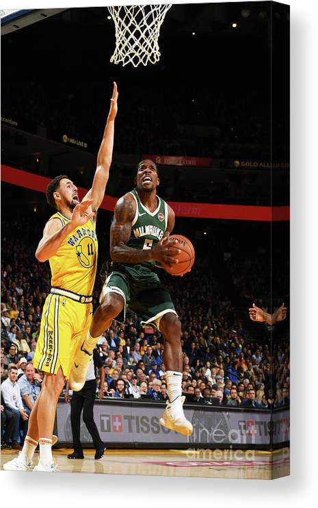 Nba Pro Basketball Canvas Print featuring the photograph Eric Bledsoe by Noah Graham