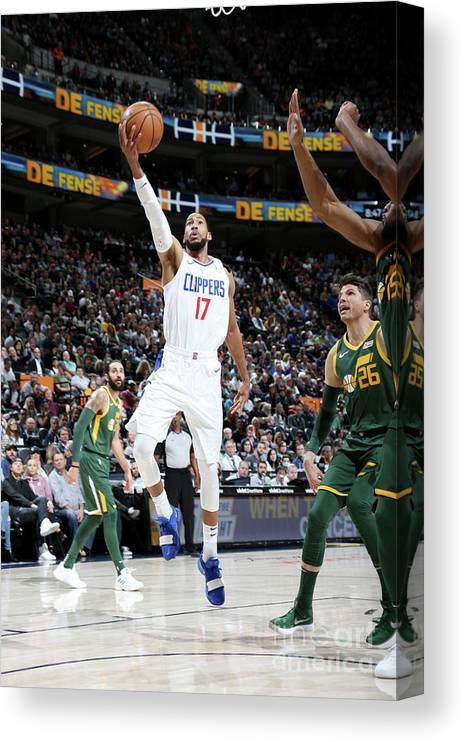 Nba Pro Basketball Canvas Print featuring the photograph Garrett Temple by Melissa Majchrzak