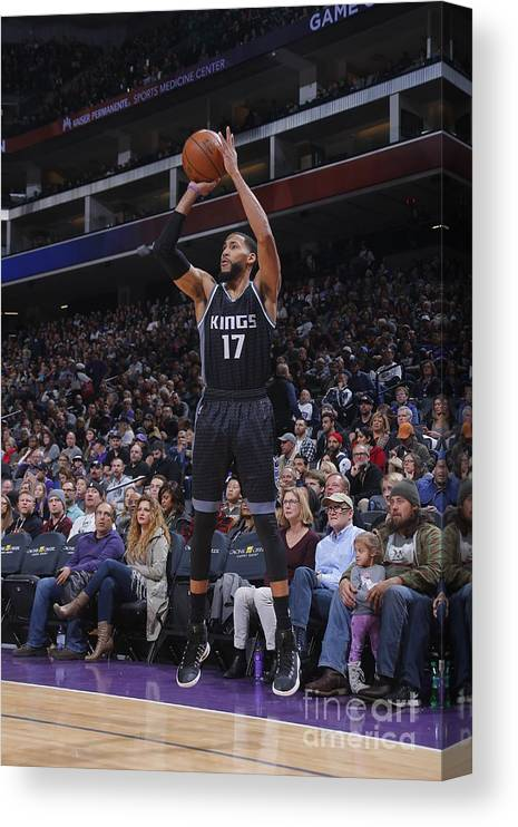 Nba Pro Basketball Canvas Print featuring the photograph Garrett Temple by Rocky Widner