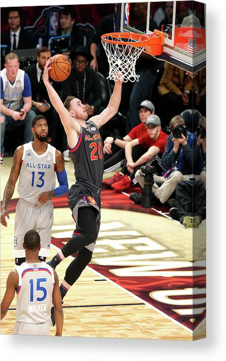 Event Canvas Print featuring the photograph Gordon Hayward by Layne Murdoch