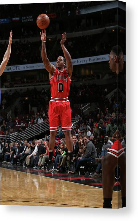 Isaiah Canaan Canvas Print featuring the photograph Isaiah Canaan by Gary Dineen