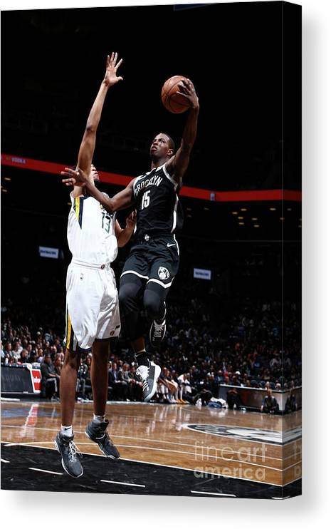 Nba Pro Basketball Canvas Print featuring the photograph Isaiah Whitehead by Nathaniel S. Butler