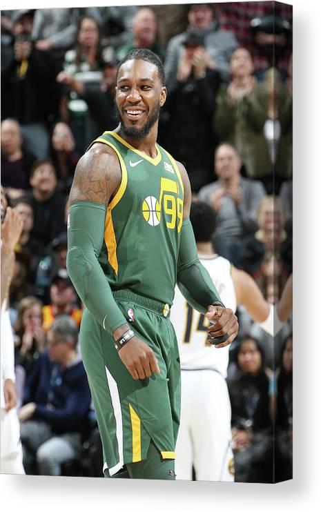 Nba Pro Basketball Canvas Print featuring the photograph Jae Crowder by Melissa Majchrzak