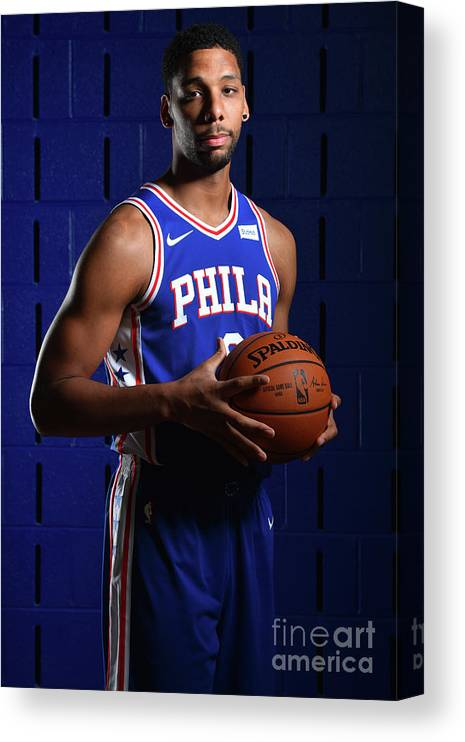 Media Day Canvas Print featuring the photograph Jahlil Okafor by Jesse D. Garrabrant