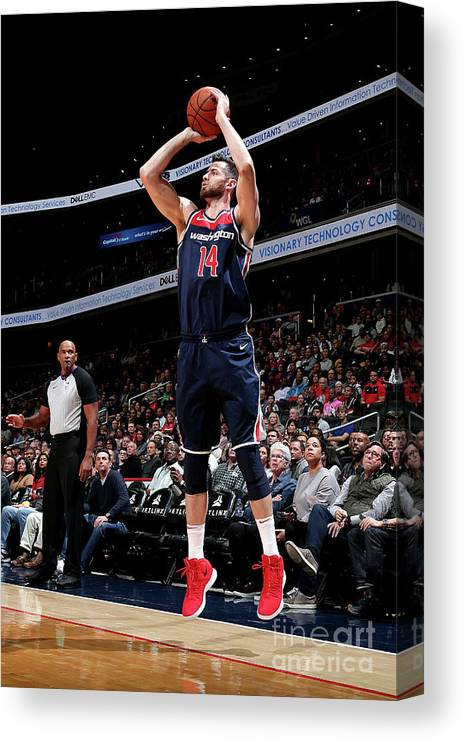 Nba Pro Basketball Canvas Print featuring the photograph Jason Smith by Ned Dishman