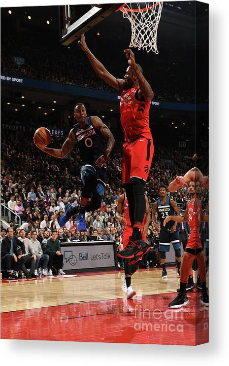 Nba Pro Basketball Canvas Print featuring the photograph Jeff Teague by Ron Turenne