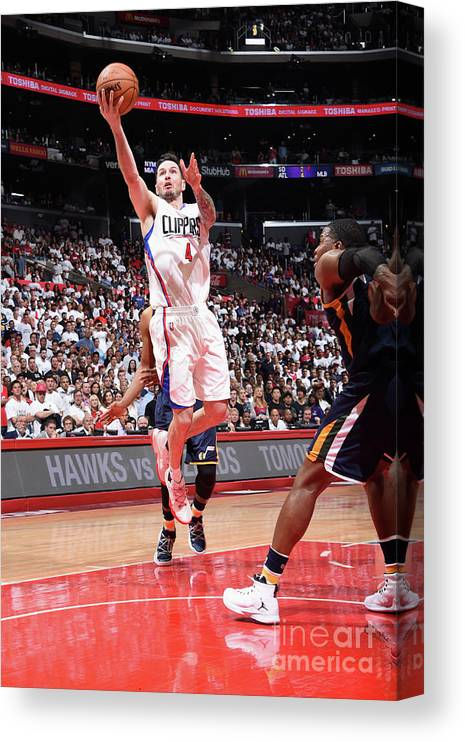 Playoffs Canvas Print featuring the photograph J.j. Redick by Andrew D. Bernstein