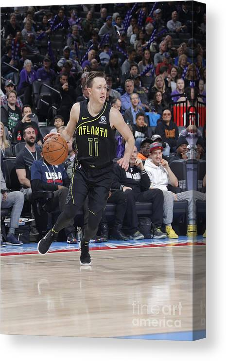 Nba Pro Basketball Canvas Print featuring the photograph Josh Magette by Rocky Widner