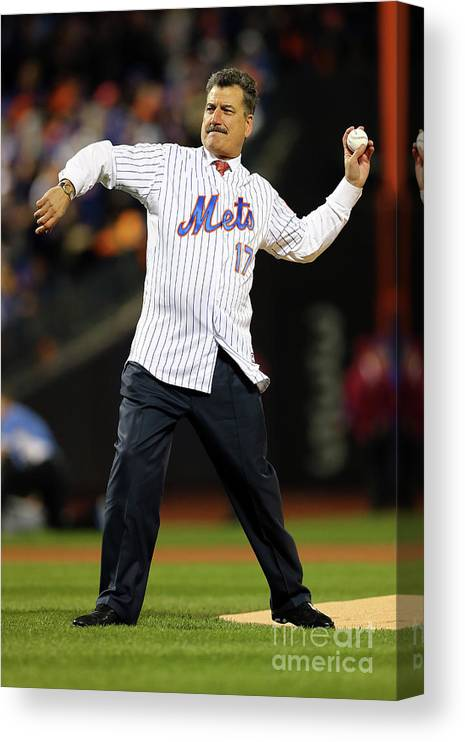 People Canvas Print featuring the photograph Keith Hernandez by Elsa