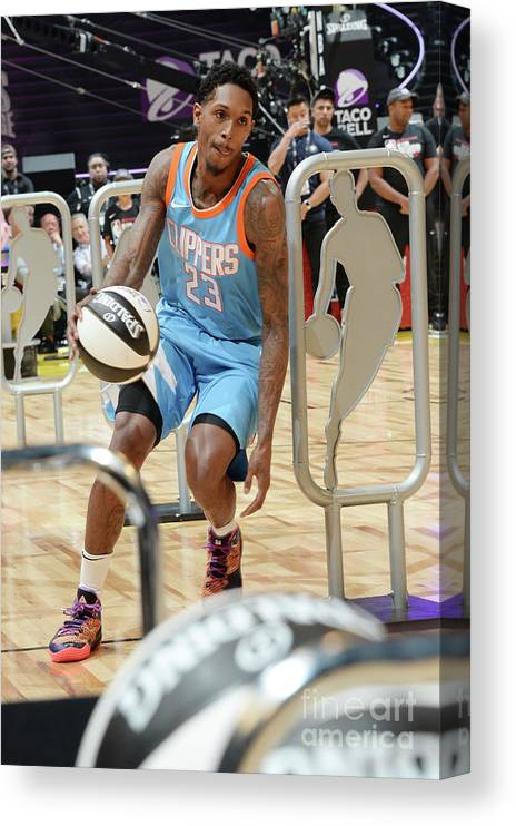 Event Canvas Print featuring the photograph Kemba Walker by Andrew D. Bernstein