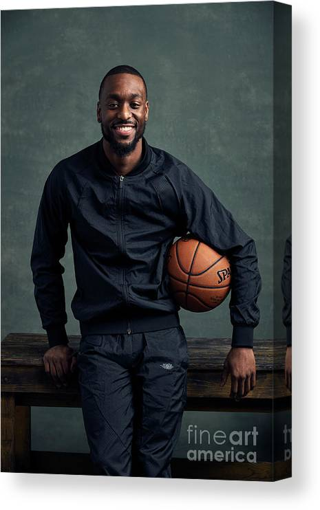 Event Canvas Print featuring the photograph Kemba Walker by Jennifer Pottheiser