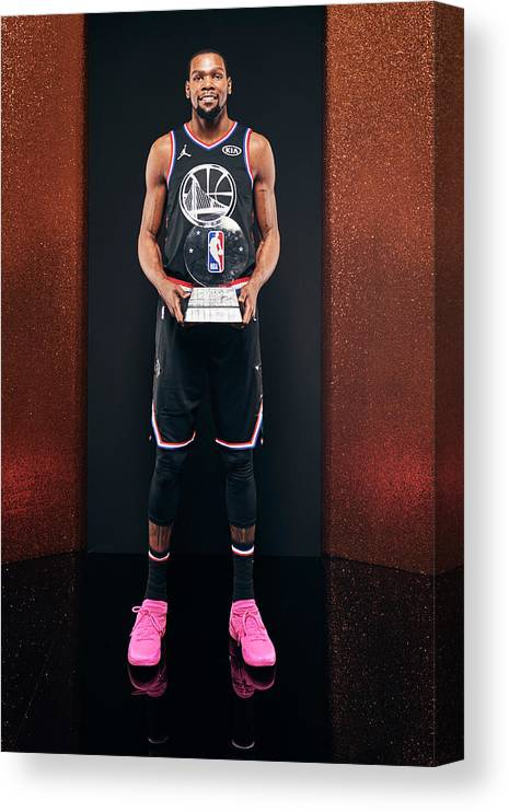 Nba Pro Basketball Canvas Print featuring the photograph Kevin Durant by Jennifer Pottheiser