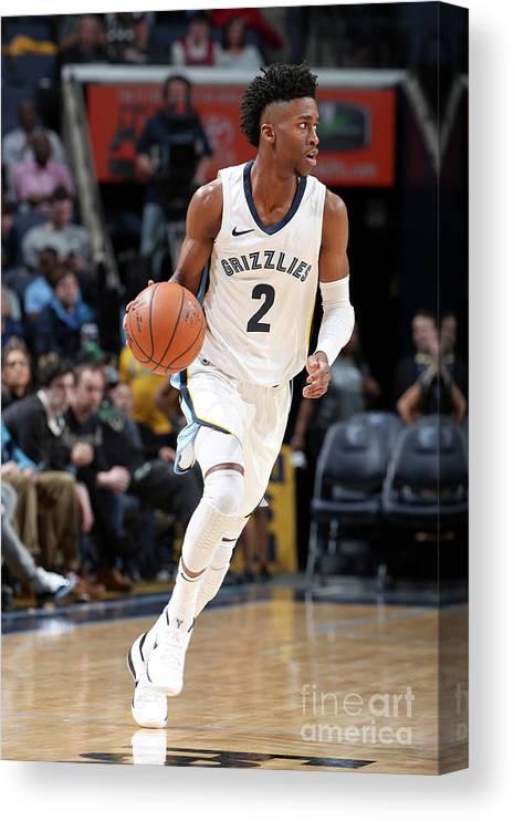 Nba Pro Basketball Canvas Print featuring the photograph Kobi Simmons by Joe Murphy