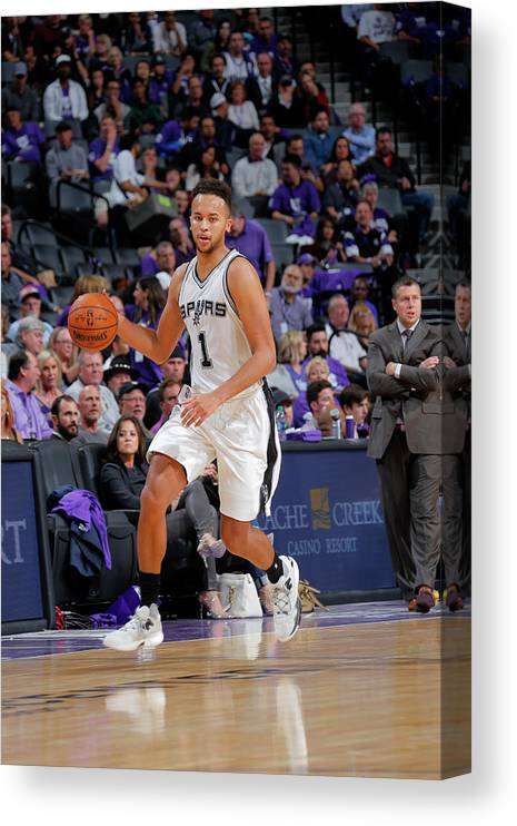 Nba Pro Basketball Canvas Print featuring the photograph Kyle Anderson by Rocky Widner
