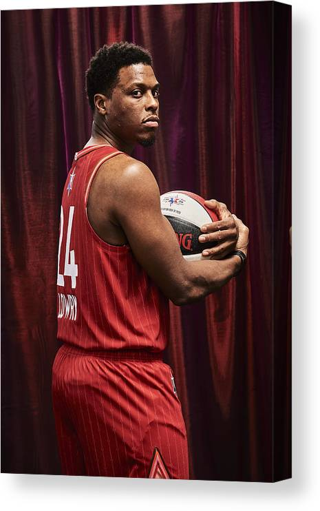 Nba Pro Basketball Canvas Print featuring the photograph Kyle Lowry by Jennifer Pottheiser