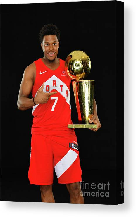 Playoffs Canvas Print featuring the photograph Kyle Lowry by Jesse D. Garrabrant