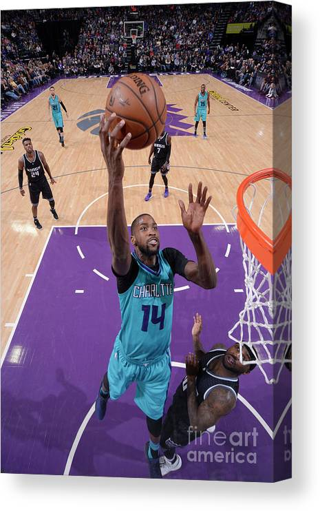 Nba Pro Basketball Canvas Print featuring the photograph Michael Kidd-gilchrist by Rocky Widner