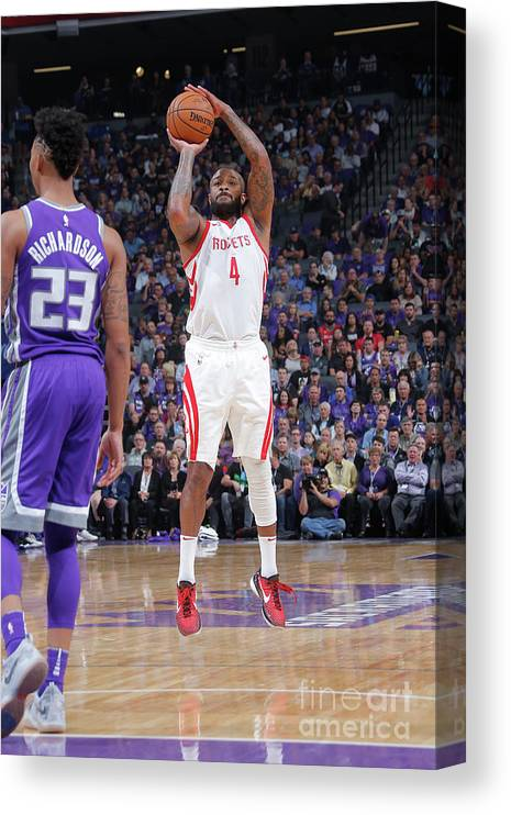 Nba Pro Basketball Canvas Print featuring the photograph P.j. Tucker by Rocky Widner