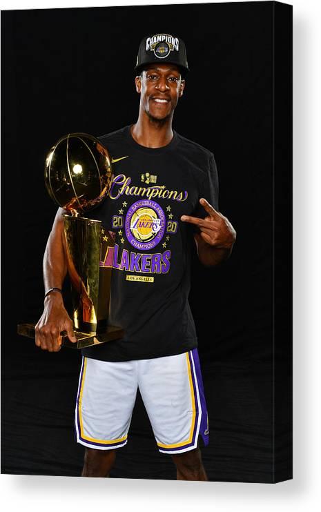 Playoffs Canvas Print featuring the photograph Rajon Rondo by Jesse D. Garrabrant