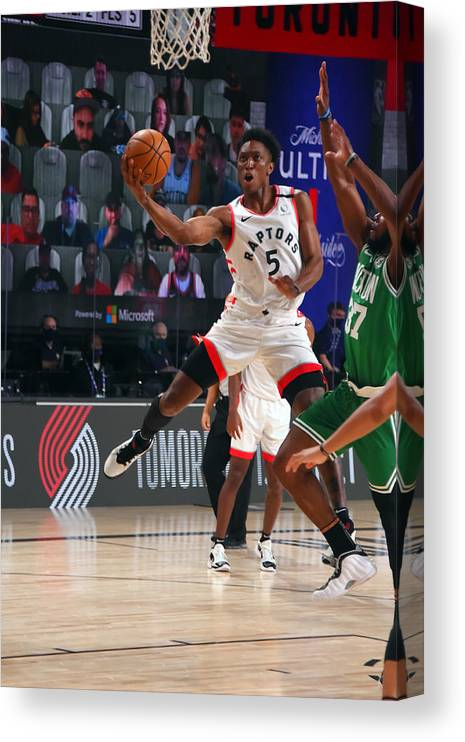 Nba Pro Basketball Canvas Print featuring the photograph Stanley Johnson by Bill Baptist