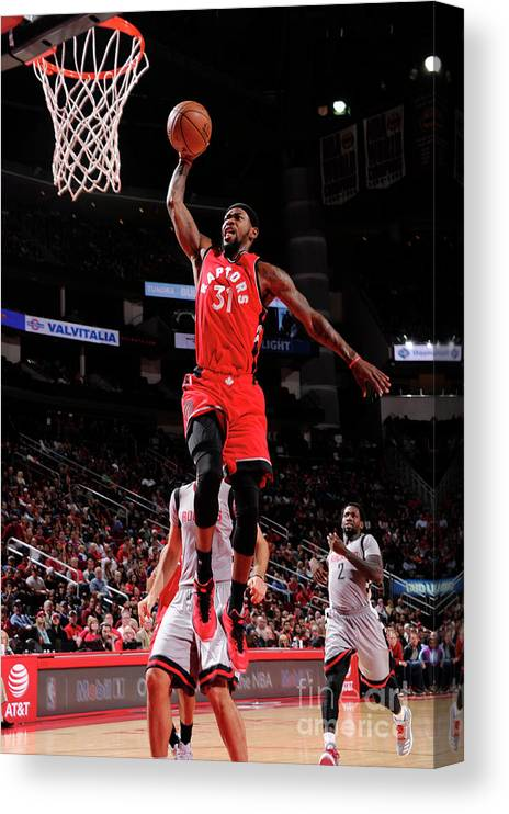 Nba Pro Basketball Canvas Print featuring the photograph Terrence Ross by Bill Baptist