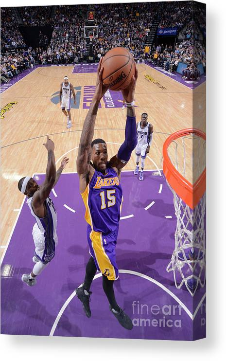 Nba Pro Basketball Canvas Print featuring the photograph Thomas Robinson by Rocky Widner
