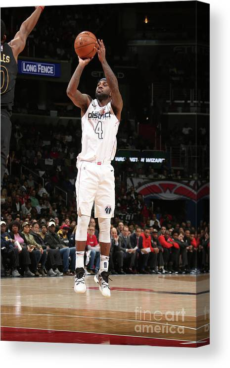 Playoffs Canvas Print featuring the photograph Ty Lawson by Ned Dishman
