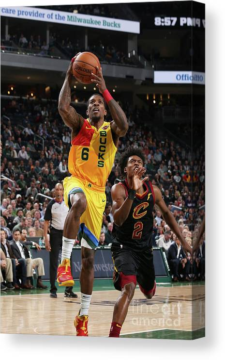 Nba Pro Basketball Canvas Print featuring the photograph Eric Bledsoe by Gary Dineen