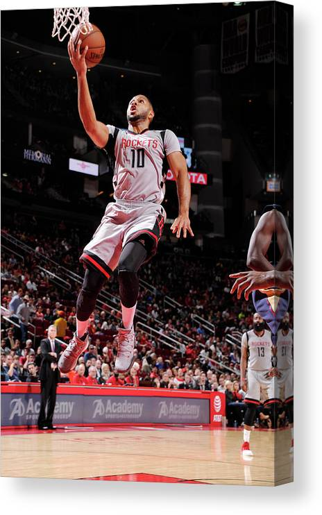 Nba Pro Basketball Canvas Print featuring the photograph Eric Gordon by Bill Baptist