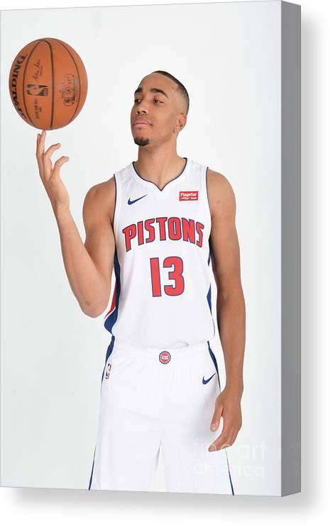 Nba Pro Basketball Canvas Print featuring the photograph Brice Johnson by Chris Schwegler