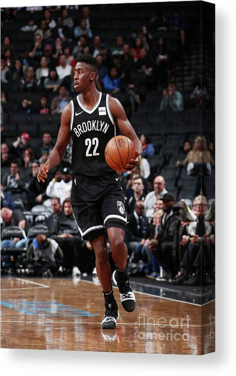Sport Canvas Print featuring the photograph Caris Levert by Nathaniel S. Butler