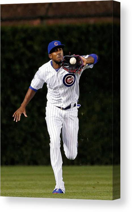 People Canvas Print featuring the photograph Dexter Fowler by Jon Durr