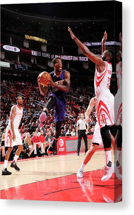Nba Pro Basketball Canvas Print featuring the photograph Eric Bledsoe by Bill Baptist
