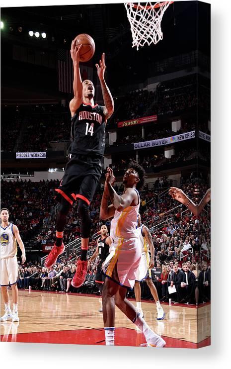Nba Pro Basketball Canvas Print featuring the photograph Gerald Green by Bill Baptist