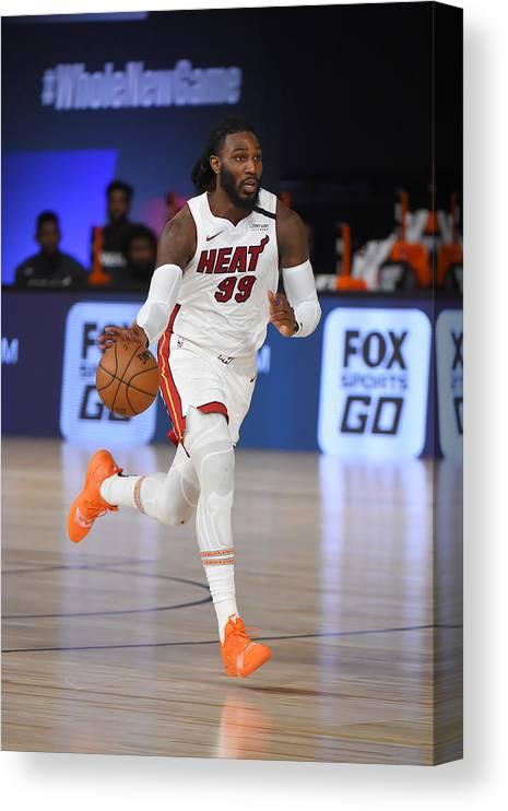 Nba Pro Basketball Canvas Print featuring the photograph Jae Crowder by Bill Baptist