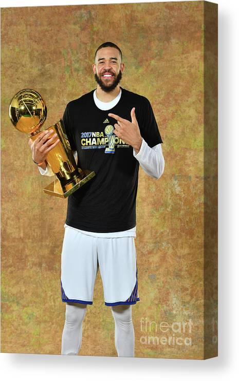 Playoffs Canvas Print featuring the photograph Javale Mcgee by Jesse D. Garrabrant