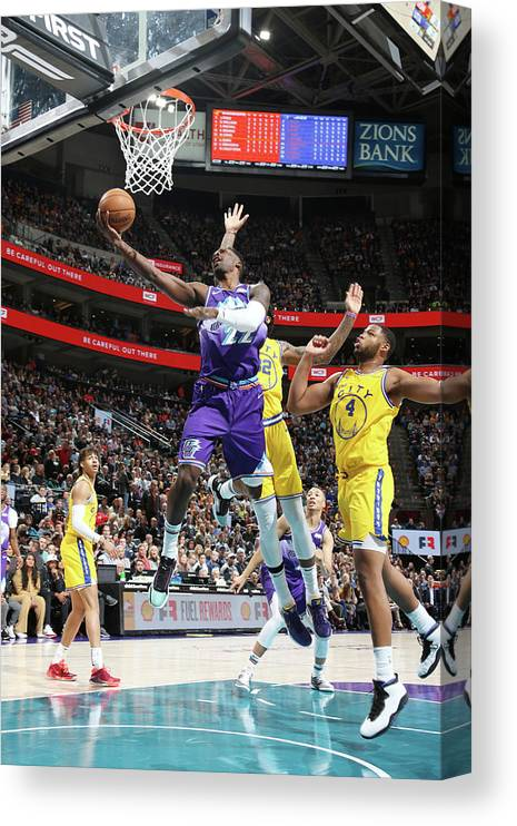 Nba Pro Basketball Canvas Print featuring the photograph Jeff Green by Melissa Majchrzak