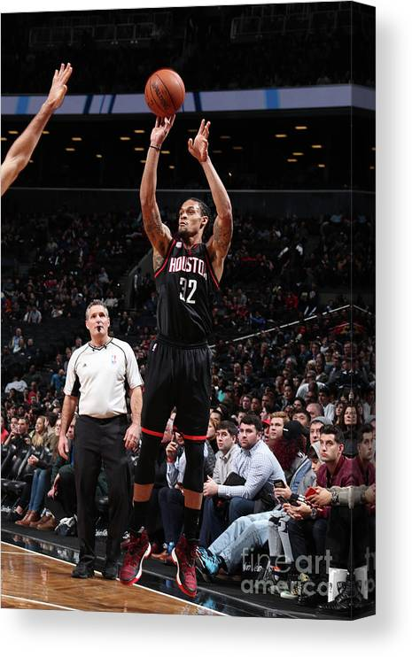 Nba Pro Basketball Canvas Print featuring the photograph K.j. Mcdaniels by Nathaniel S. Butler
