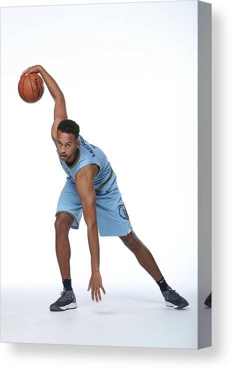 Media Day Canvas Print featuring the photograph Kyle Anderson by Joe Murphy