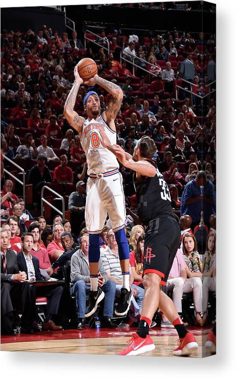 Michael Beasley Canvas Print featuring the photograph Michael Beasley by Bill Baptist
