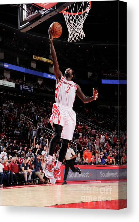 Nba Pro Basketball Canvas Print featuring the photograph Patrick Beverley by Bill Baptist