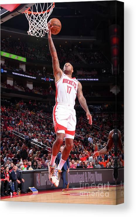 Nba Pro Basketball Canvas Print featuring the photograph P.j. Tucker by Bill Baptist