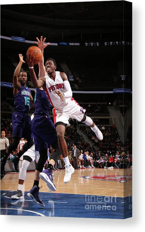 Nba Pro Basketball Canvas Print featuring the photograph Reggie Jackson by Brian Sevald