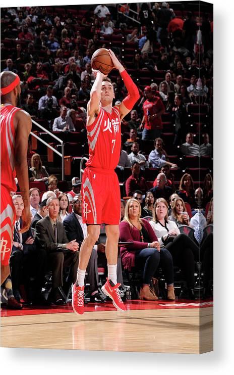Nba Pro Basketball Canvas Print featuring the photograph Sam Dekker by Bill Baptist