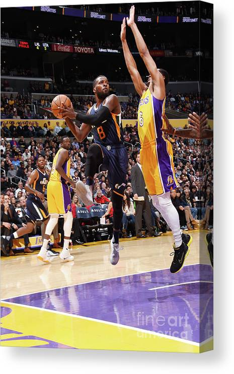 Nba Pro Basketball Canvas Print featuring the photograph Shelvin Mack by Andrew D. Bernstein