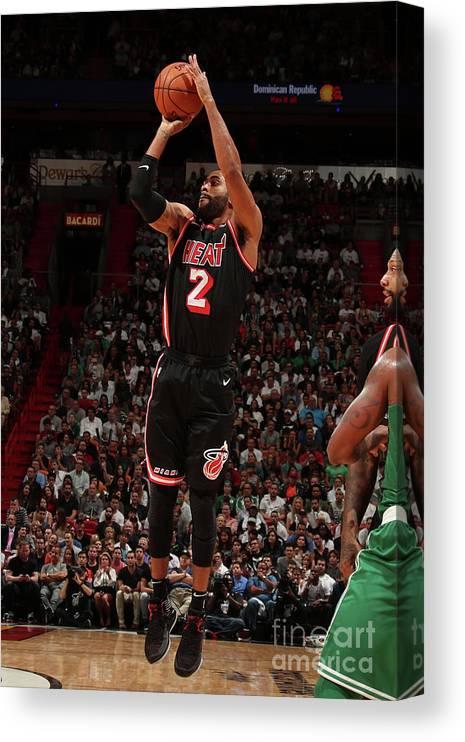 Nba Pro Basketball Canvas Print featuring the photograph Wayne Ellington by Issac Baldizon