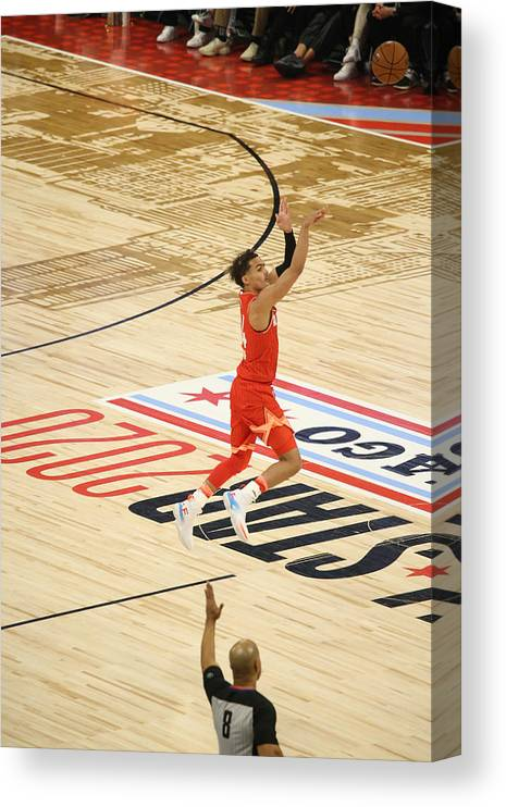 Nba Pro Basketball Canvas Print featuring the photograph 2020 NBA All-Star Game by Gary Dineen