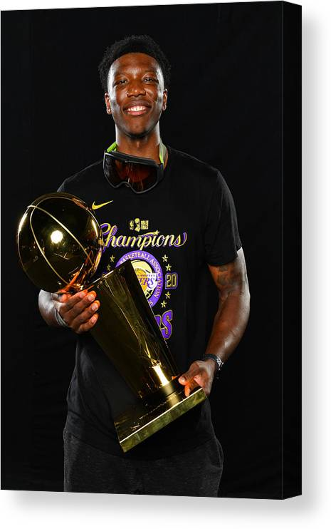 Playoffs Canvas Print featuring the photograph 2020 NBA Finals - Los Angeles Lakers v Miami Heat by Jesse D. Garrabrant