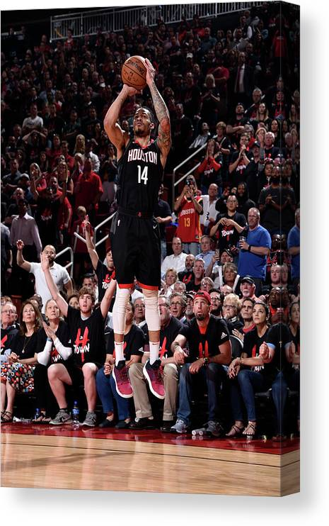 Playoffs Canvas Print featuring the photograph Gerald Green by Bill Baptist
