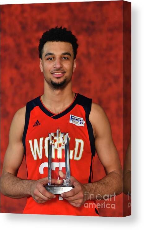 Smoothie King Center Canvas Print featuring the photograph Jamal Murray by Jesse D. Garrabrant
